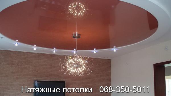 многоуровневые натяжные потолки Кривой Рог (15)