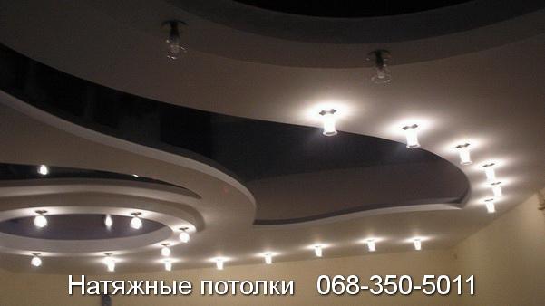 многоуровневые натяжные потолки Кривой Рог (22)
