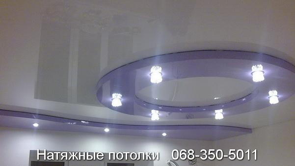 многоуровневые натяжные потолки Кривой Рог (6)