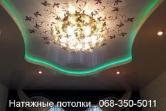 многоуровневые натяжные потолки Кривой Рог (4)
