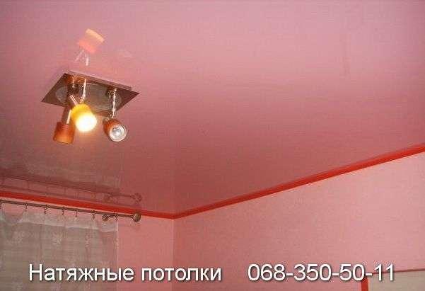 Глянцевый натяжной потолок Кривой Рог
