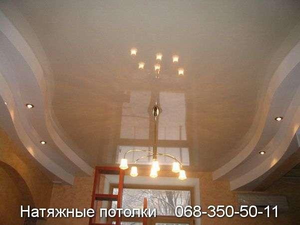 Многоуровневые натяжные потолки Кривой Рог (103)
