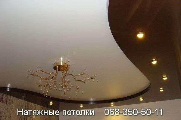 Многоуровневые натяжные потолки Кривой Рог (110)