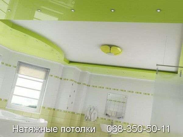 Многоуровневые натяжные потолки Кривой Рог (115)