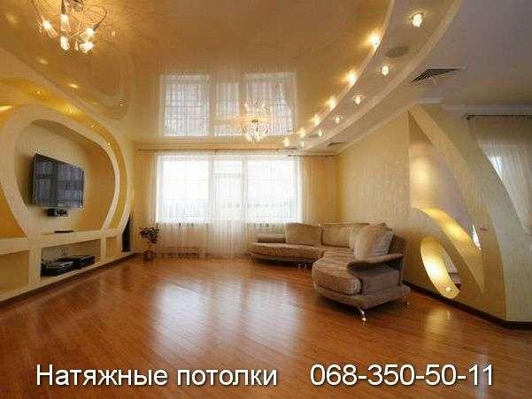 Многоуровневые натяжные потолки Кривой Рог (117)