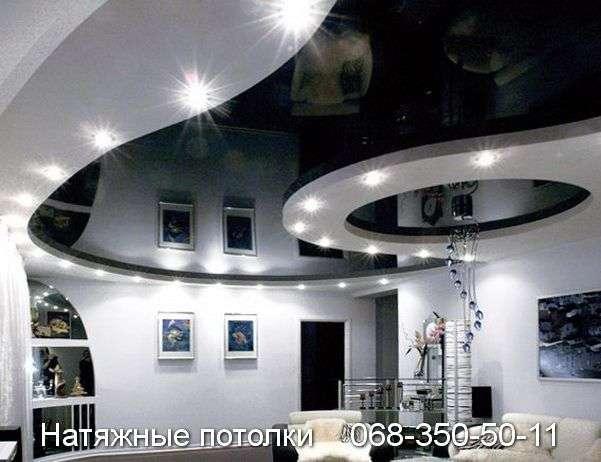 Многоуровневые натяжные потолки Кривой Рог (122)