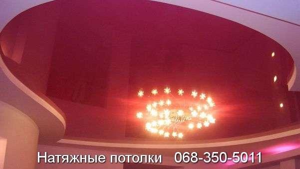 Многоуровневые натяжные потолки Кривой Рог (140)
