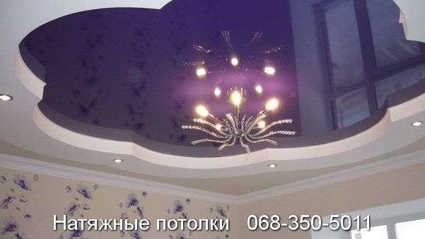 Многоуровневые натяжные потолки Кривой Рог (143)