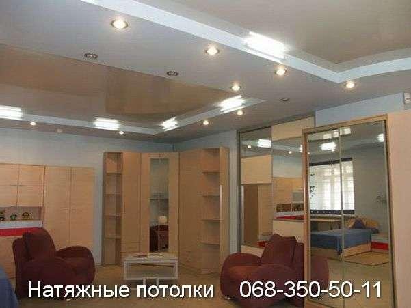 Многоуровневые натяжные потолки Кривой Рог (73)