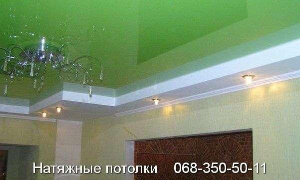 Многоуровневые натяжные потолки Кривой Рог (86)