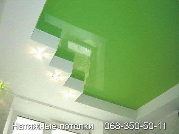 Многоуровневые натяжные потолки Кривой Рог (87)