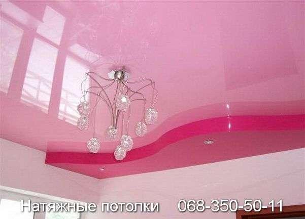 Многоуровневые натяжные потолки Кривой Рог (91)