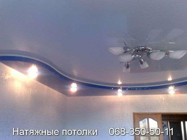 Многоуровневые натяжные потолки Кривой Рог (97)