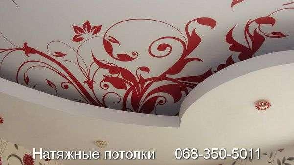 Натяжной потолок с фотопечатью Кривой Рог