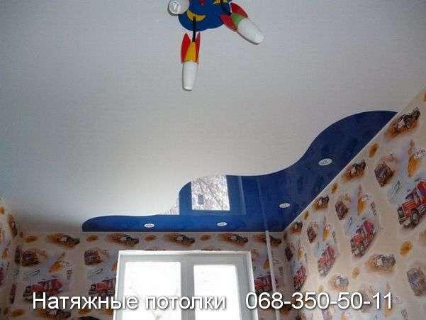 Натяжные потолки со спайкой цветов Кривой Рог