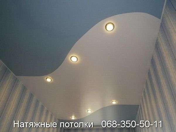 Натяжные потолки со спайкой цветов - Кривой Рог
