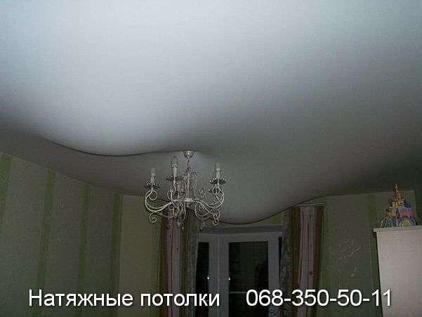 Натяжные потолки после затопления - фото