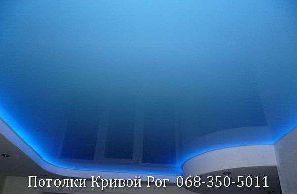 Натяжные потолки с подсветкой заказать в Кривом Роге (22)