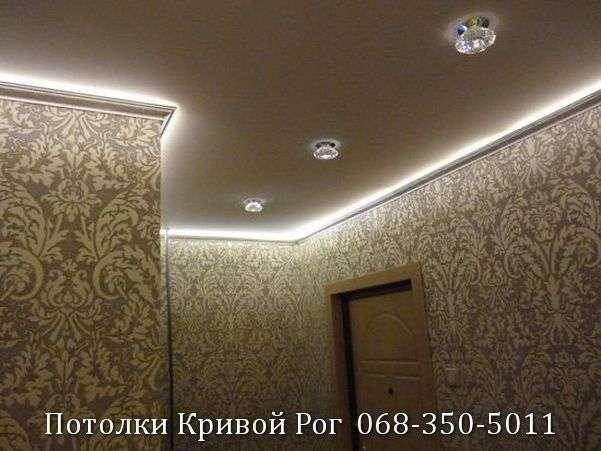 Натяжные потолки с подсветкой заказать в Кривом Роге (25)