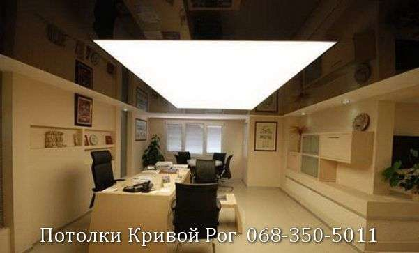 Натяжные потолки с подсветкой заказать в Кривом Роге (27)