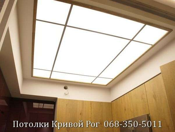 Натяжные потолки с подсветкой заказать в Кривом Роге (3)