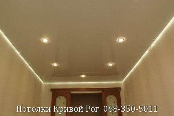 Натяжные потолки с подсветкой заказать в Кривом Роге (35)