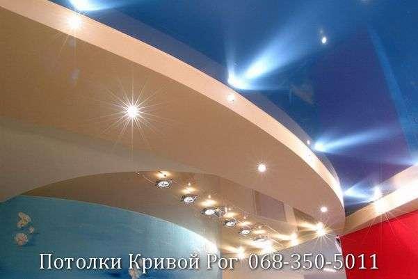 Натяжные потолки с подсветкой заказать в Кривом Роге (5)