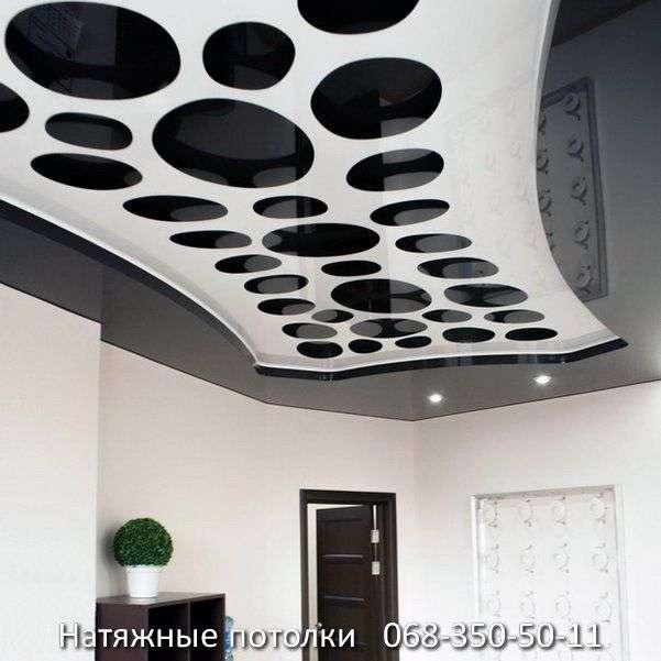 перфорированные резные натяжные потолки (20)