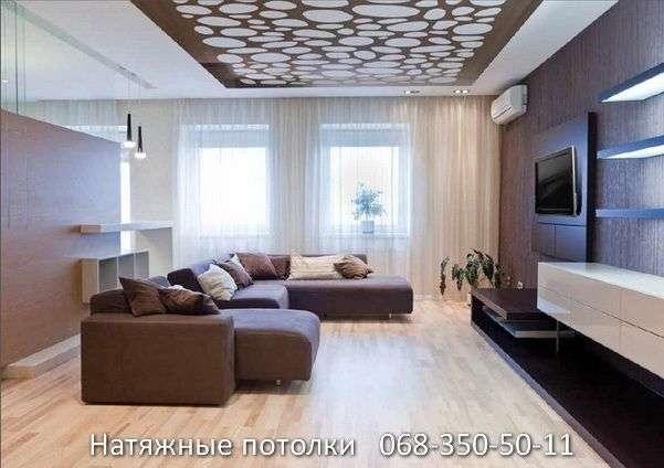 перфорированные резные натяжные потолки (22)