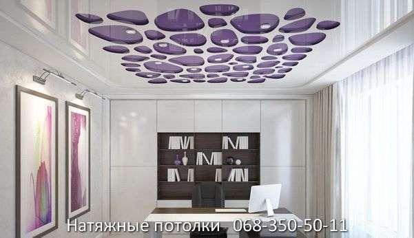 перфорированные резные натяжные потолки (60)