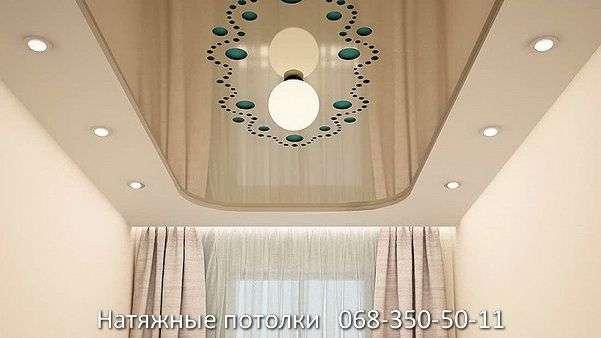 перфорированные резные натяжные потолки (69)