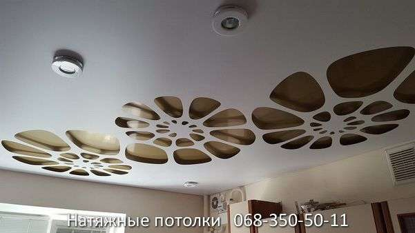 перфорированные резные натяжные потолки (83)