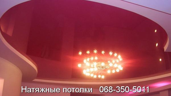 многоуровневые натяжные потолки Кривой Рог (16)