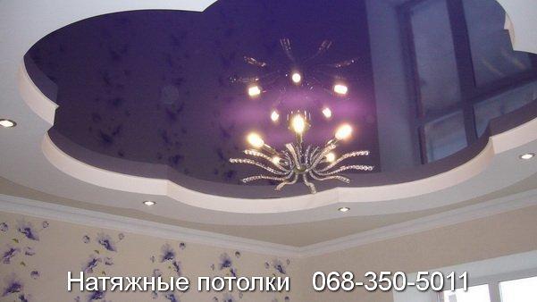 многоуровневые натяжные потолки Кривой Рог (19)