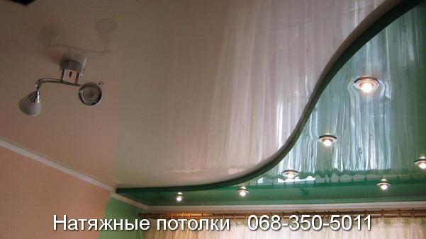 многоуровневые натяжные потолки Кривой Рог (21)