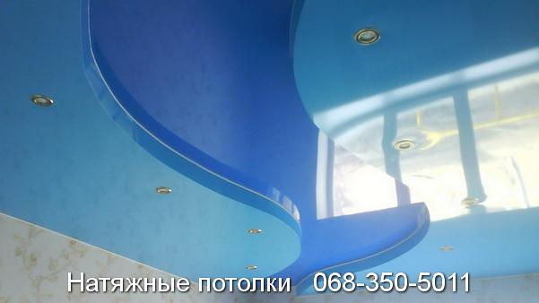 многоуровневые натяжные потолки Кривой Рог (24)