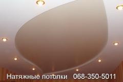 многоуровневые натяжные потолки Кривой Рог (18)