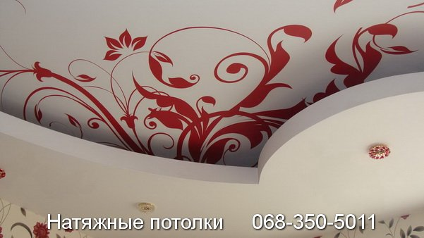 натяжные потолки с фотопечатью Кривой Рог (13)