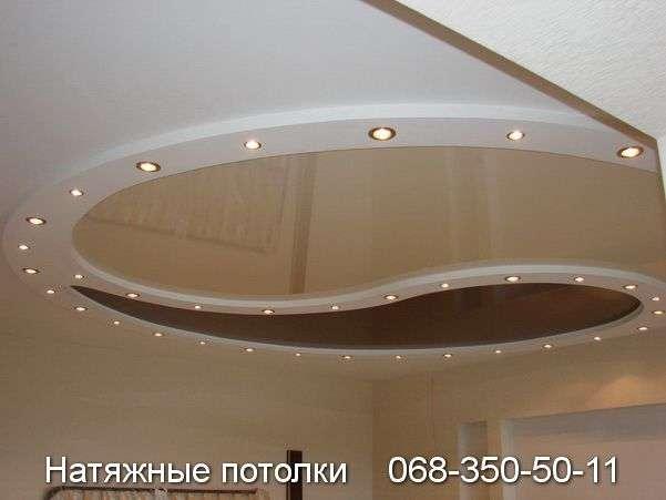 Многоуровневые натяжные потолки Кривой Рог (100)
