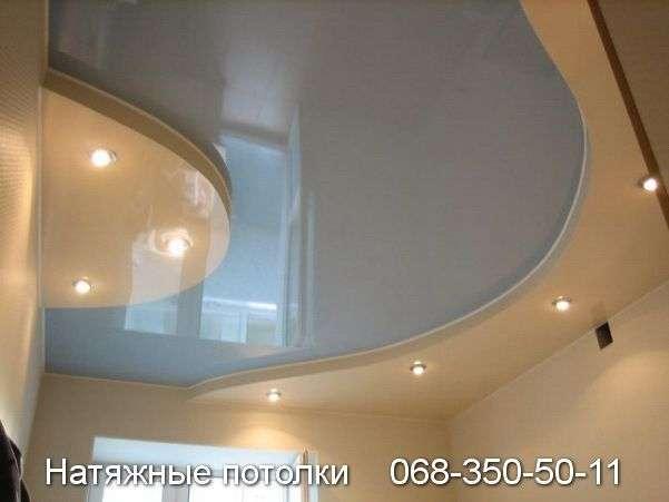 Многоуровневые натяжные потолки Кривой Рог (109)