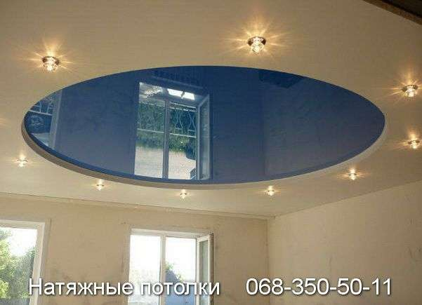 Многоуровневые натяжные потолки Кривой Рог