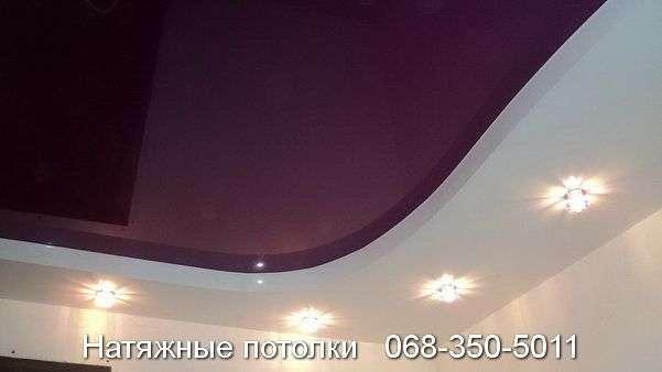 Многоуровневые натяжные потолки Кривой Рог (126)