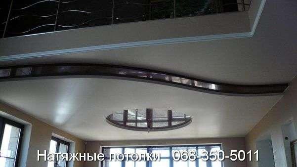 Многоуровневые натяжные потолки Кривой Рог (127)