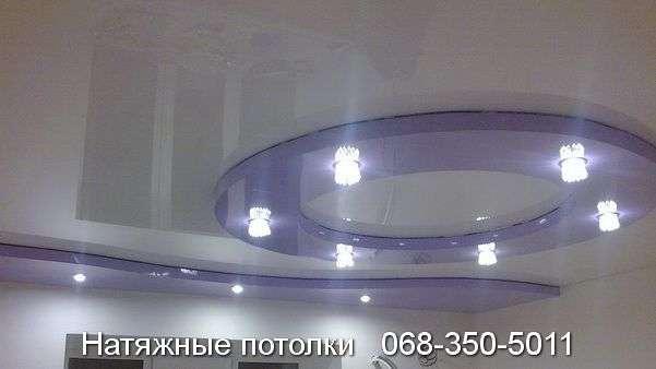 Многоуровневые натяжные потолки Кривой Рог (130)