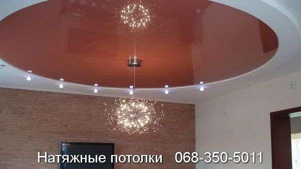 Многоуровневые натяжные потолки Кривой Рог (139)