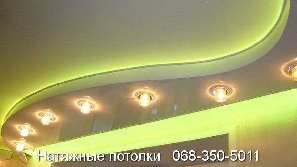 Многоуровневые натяжные потолки Кривой Рог (144)
