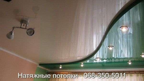 Многоуровневые натяжные потолки Кривой Рог (145)