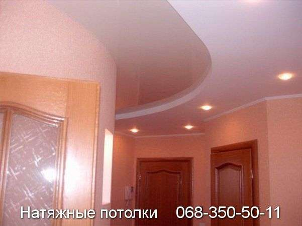 Многоуровневые натяжные потолки Кривой Рог (72)