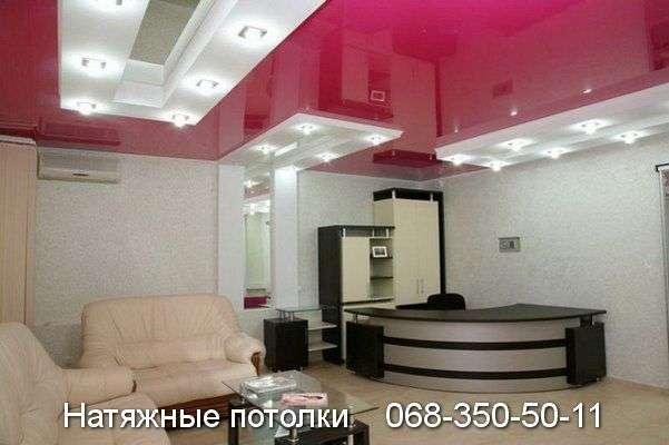 Многоуровневые натяжные потолки Кривой Рог (74)