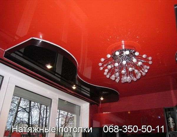 Многоуровневые натяжные потолки Кривой Рог (78)